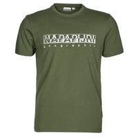 Ruhák Férfi Rövid ujjú pólók Napapijri SALLAR SS Zöld
