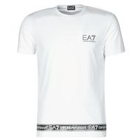 Ruhák Férfi Rövid ujjú pólók Emporio Armani EA7 3KPT05-PJ03Z-1100 Fehér