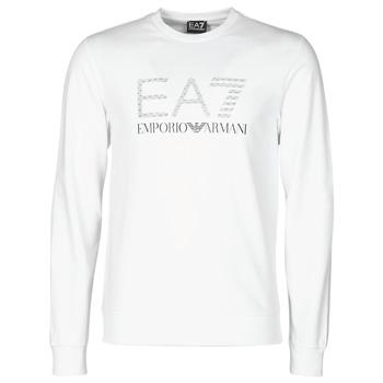 Ruhák Férfi Pulóverek Emporio Armani EA7 3KPMD7-PJ2SZ-1100 Fehér