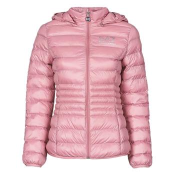 Ruhák Női Steppelt kabátok Emporio Armani EA7 8NTB23-TN12Z-1436 Rózsaszín