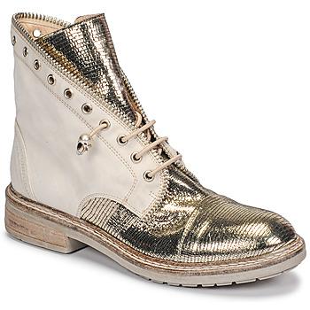 Cipők Női Csizmák Fru.it 6846-480-PLATINO Arany