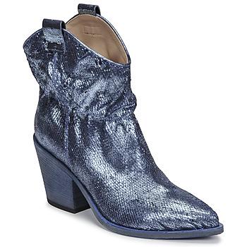 Cipők Női Bokacsizmák Fru.it 6901-376-BLUE Kék