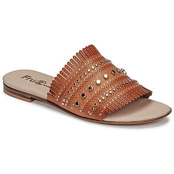 Cipők Női Papucsok Fru.it 6765-100-CUOIO Barna