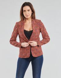 Ruhák Női Kabátok / Blézerek One Step VINNY Piros / Sokszínű