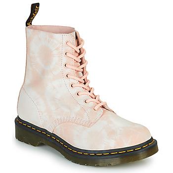 Cipők Női Csizmák Dr Martens 1460 PASCAL Bézs