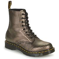 Cipők Női Csizmák Dr Martens 1460 PASCAL Tópszínű / Arany