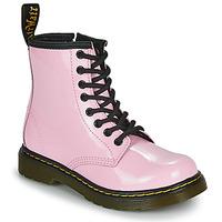 Cipők Lány Csizmák Dr Martens 1460 J Rózsaszín