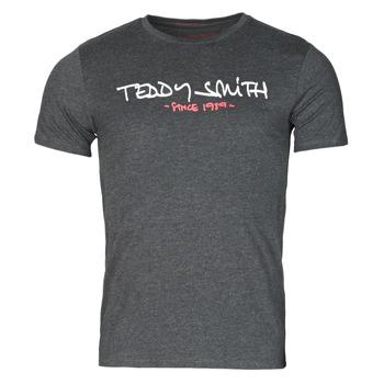 Ruhák Férfi Rövid ujjú pólók Teddy Smith TICLASS Szürke / Sötét