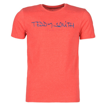 Ruhák Férfi Rövid ujjú pólók Teddy Smith TICLASS Piros