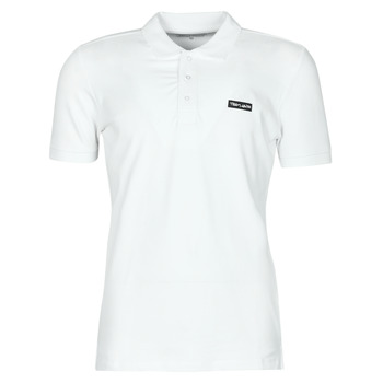 Ruhák Férfi Rövid ujjú galléros pólók Teddy Smith P-NARK Fehér
