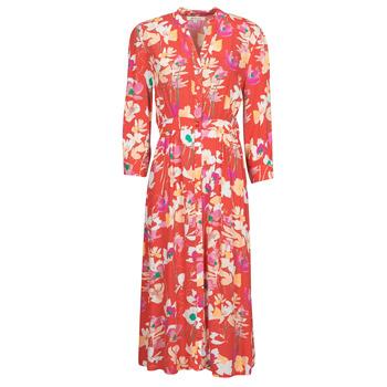 Ruhák Női Hosszú ruhák Rip Curl SUGAR BLOOM DRESS Piros