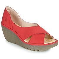 Cipők Női Szandálok / Saruk Fly London YOMA Piros