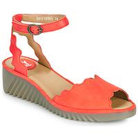 Cipők Női Szandálok / Saruk Fly London LUME Piros
