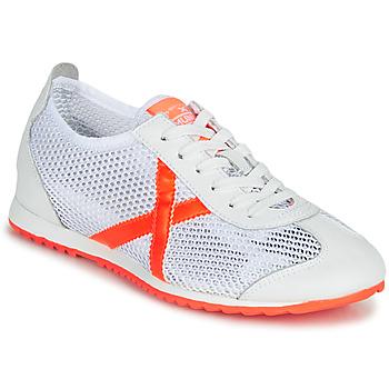 Cipők Női Rövid szárú edzőcipők Munich OSAKA 456 Fehér / Narancssárga