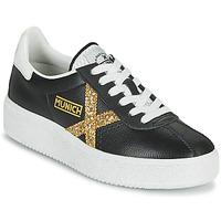 Cipők Női Rövid szárú edzőcipők Munich BARRU SKY 62 Fekete  / Arany