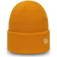 Textil kiegészítők Férfi Sapkák New-Era Ne colour waffle knit Narancssárga