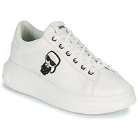 Cipők Női Rövid szárú edzőcipők Karl Lagerfeld KAPRI KARL IKONIC LO LACE Fehér