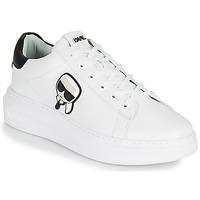 Cipők Férfi Rövid szárú edzőcipők Karl Lagerfeld KAPRI MENS KARL IKONIC 3D LACE Fehér