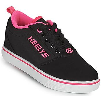 Cipők Lány Gurulós cipők Heelys PRO 20'S Fekete  / Rózsaszín