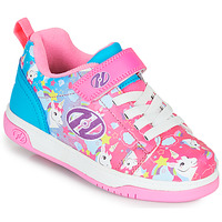 Cipők Lány Gurulós cipők Heelys DUAL UP X2 Rózsaszín / Kék