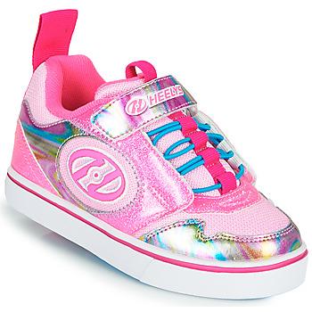 Cipők Lány Gurulós cipők Heelys ROCKET X2 Rózsaszín