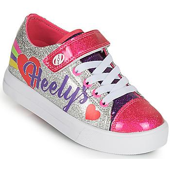 Cipők Lány Gurulós cipők Heelys SNAZZY X2 Ezüst / Sokszínű