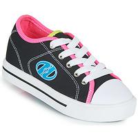 Cipők Lány Gurulós cipők Heelys CLASSIC X2 Fekete  / Rózsaszín / Kék