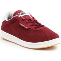 Cipők Női Rövid szárú edzőcipők Lacoste Masters 319 1 SFA 7-38SFA00032P8 bordowy