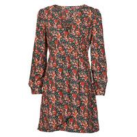 Ruhák Női Rövid ruhák Betty London NOMIM Fekete  / Piros