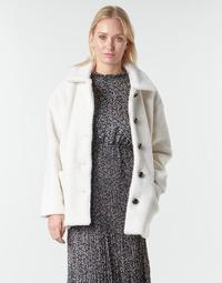 Ruhák Női Kabátok Betty London NUMIM Ekrü