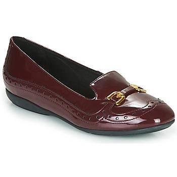 Cipők Női Balerina cipők  Geox D ANNYTAH Bordó