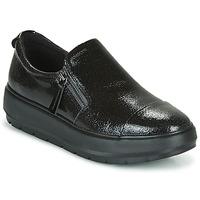 Cipők Női Rövid szárú edzőcipők Geox D KAULA Fekete