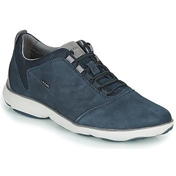 Cipők Férfi Rövid szárú edzőcipők Geox U NEBULA Kék