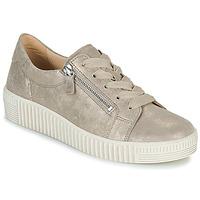 Cipők Női Rövid szárú edzőcipők Gabor 6333462 Bézs / Arany
