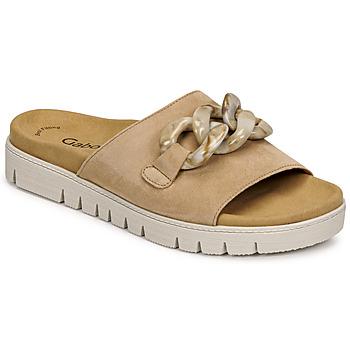 Cipők Női Papucsok Gabor 6374314 Karamell