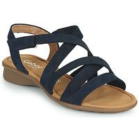 Cipők Női Szandálok / Saruk Gabor 6606636 Kék