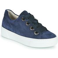 Cipők Női Rövid szárú edzőcipők Gabor 6646446 Tengerész