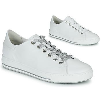 Cipők Női Rövid szárú edzőcipők Gabor 6651550 Fehér