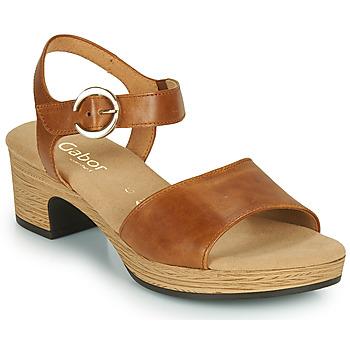 Cipők Női Szandálok / Saruk Gabor 6272153 Teve