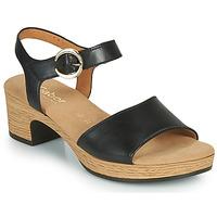 Cipők Női Szandálok / Saruk Gabor 6272157 Fekete