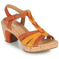 Cipők Női Szandálok / Saruk Gabor 6273442 Konyak