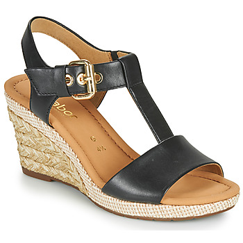 Cipők Női Szandálok / Saruk Gabor 6282457 Fekete