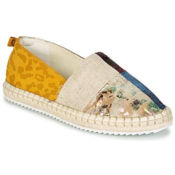 Cipők Női Gyékény talpú cipők Desigual SELVA PATCH Sokszínű