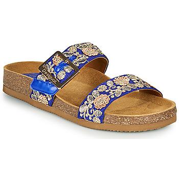 Cipők Női Papucsok Desigual ARIES EXOTIC Kék