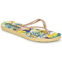 Cipők Női Lábujjközös papucsok Desigual FLIP FLOP TROPICUBAN Arany