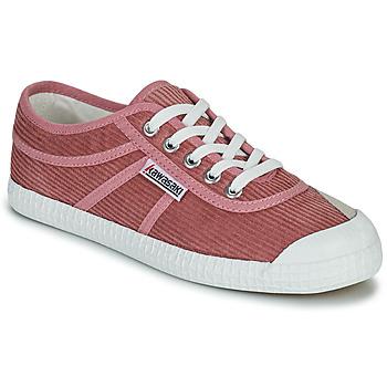 Cipők Női Rövid szárú edzőcipők Kawasaki CORDUROY Rózsaszín