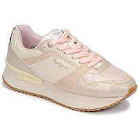 Cipők Női Rövid szárú edzőcipők Pepe jeans RUSPER EVE Fehér / Leopárd