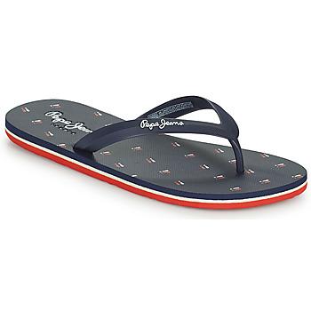 Cipők Férfi Lábujjközös papucsok Pepe jeans WHALE BRENNAN Kék