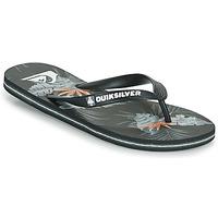 Cipők Férfi Lábujjközös papucsok Quiksilver MOLOKAI EVERYDAY Fekete