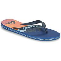 Cipők Férfi Lábujjközös papucsok Quiksilver MOLOKAI PANEL Kék / Narancssárga / Fekete